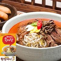 원할머니 육개장 * 4팩 / 깊고 진한 국물맛 / 푸짐한 600g