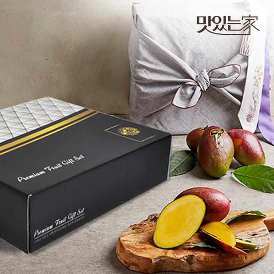 [단독][맛있는家]프리미엄 애플망고 선물세트
