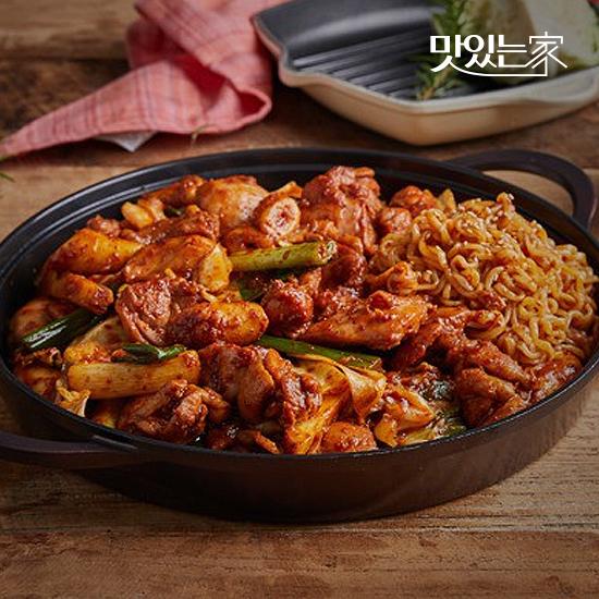 [맛있는家]춘천 맛집 통나무집닭갈비 2인분/3인분 매장동일상품