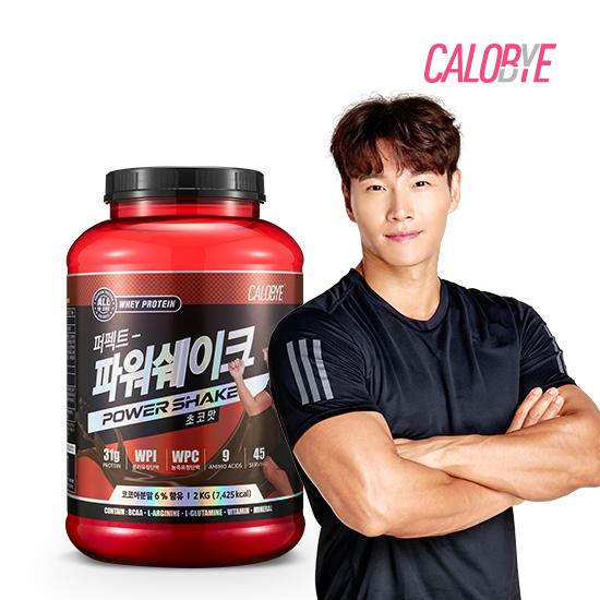 [오플]칼로바이 김종국단백질 퍼펙트파워쉐이크 2000g+쉐이커